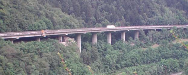 Modello 3d dell impalcato di un viadotto autostradale - Brennero mobili ...