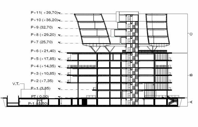 Descrizione sommaria dell edificio for Piani di fattoria di un livello